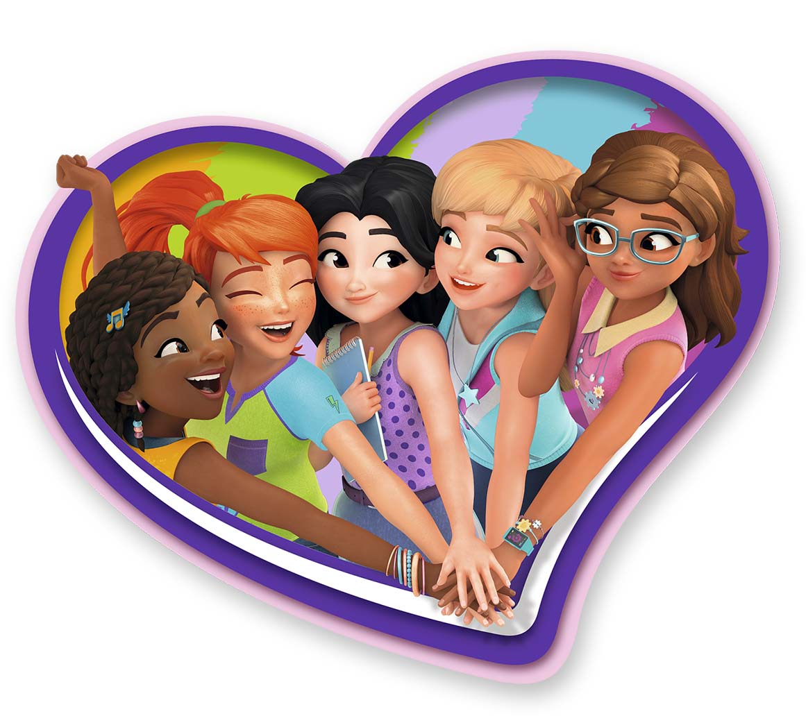 LEGO FRIENDS retail visual2q